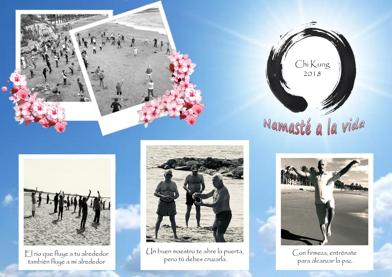 Playa de la República – Chi Kung con Antonio